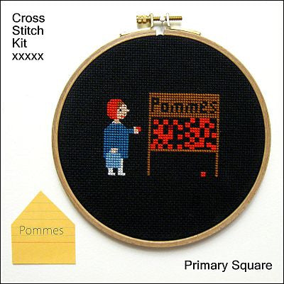 Primary Square Kit - Pommes - Kits - Samantha Purdy Textile - Craft de Ville