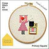Primary Square Kit - Cooking Potatoes - Samantha Purdy Textile - Craft de Ville