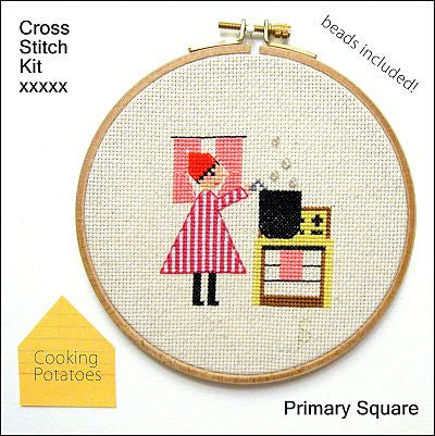 Primary Square Kit - Cooking Potatoes - Kits - Samantha Purdy Textile - Craft de Ville