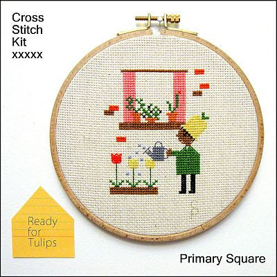 Primary Square Kit - Ready for Tulips - Kits - Samantha Purdy Textile - Craft de Ville
