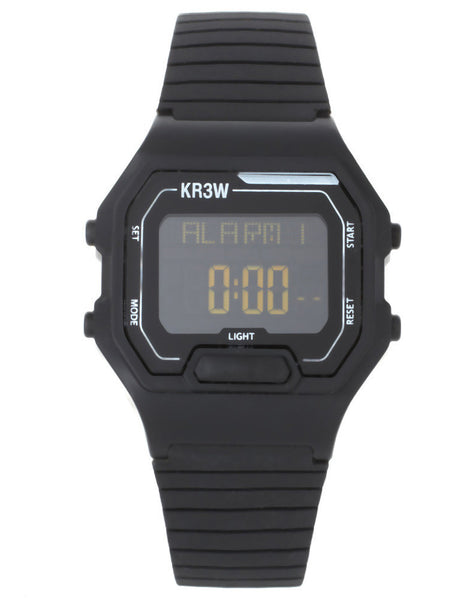KR3W Watch With Rubber Strap