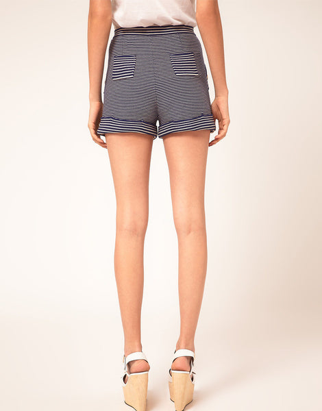 Sonia By Sonia Rykiel Fine Stripe Shorts