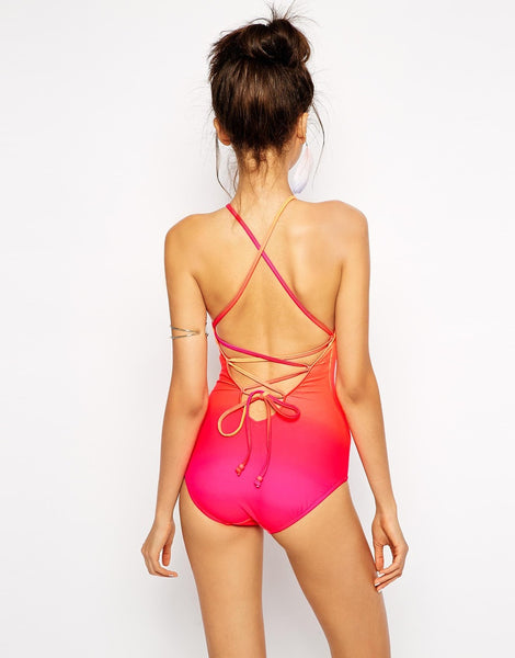Seafolly Miami High Neck Swimsuit