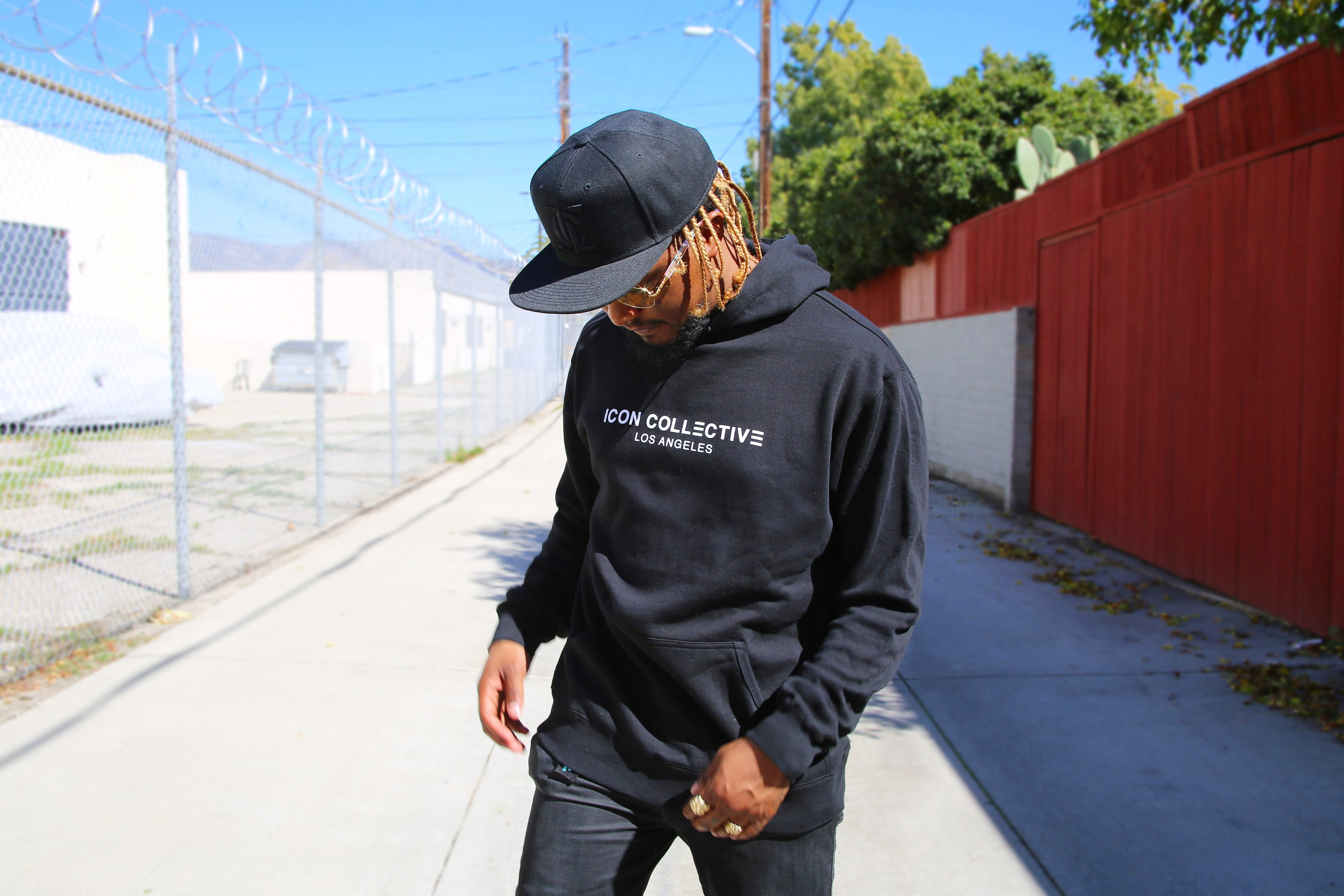 ICON COLLECTIVE LOS ANGELES HOODIE