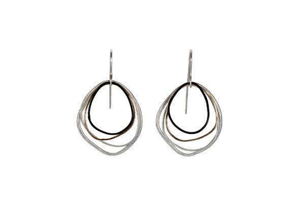 Colleen Mauer Designs - Small Topography Earrings