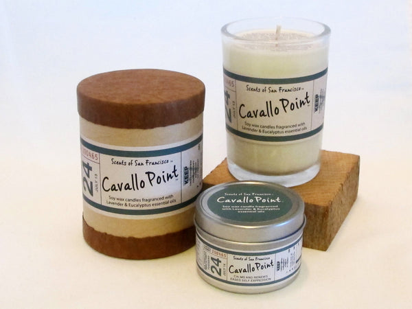 Scents of San Francisco - Cavallo Point Lavender Eucalyptus Candle