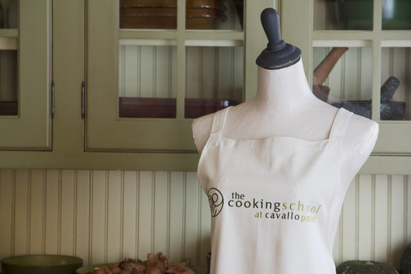 Cooking School Logo Apron