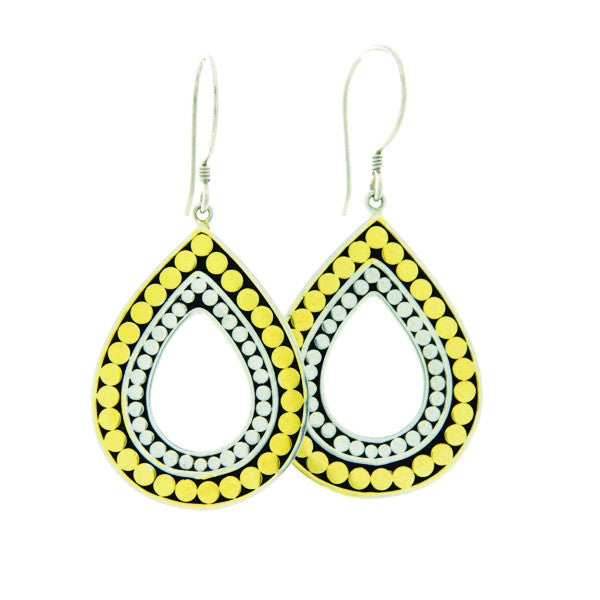 Kathy Kamei - Double Life Teardrop Earrings