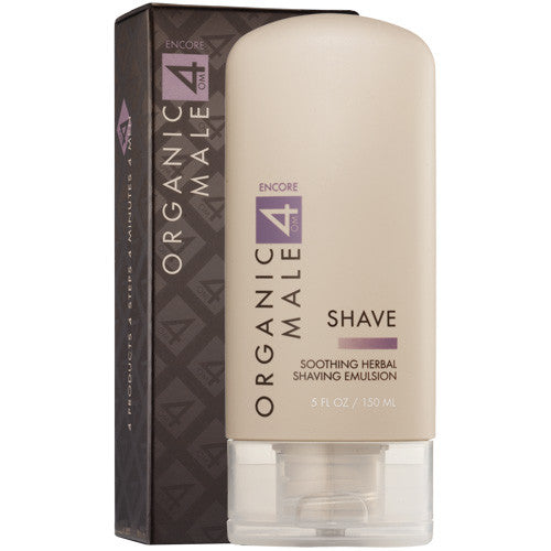 OM4 Shave: Soothing Herbal Shaving Emulsion