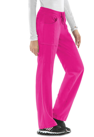 Clearance Colors Infinity Low Rise Pant by Cherokee