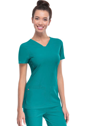 HeartSoul Break ON Through V-Neck Scrub Top