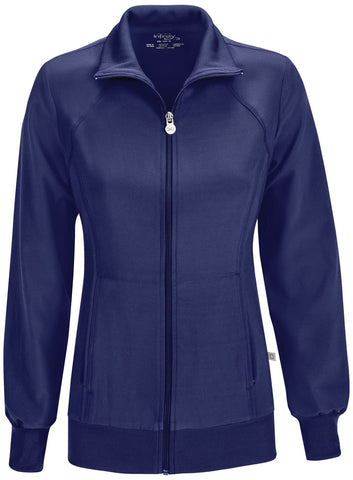 Infinity Zip Front Warm-Up Jacket by Cherokee