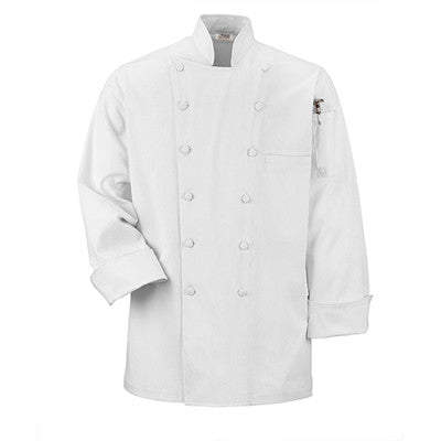 Executive Chef Coat in White