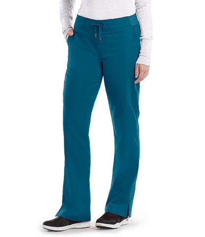 Grey's Anatomy™ 6 Pocket Tie Front Pant 4277