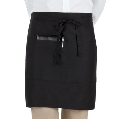 Black Short Bistro Apron