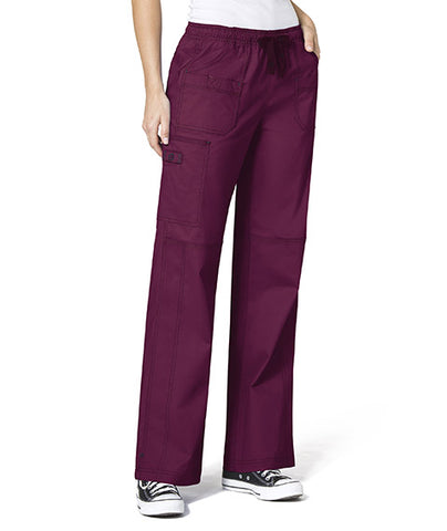 Women's Wonder Flex Faith Multi Pocket Cargo Pant by Wink - FVTC