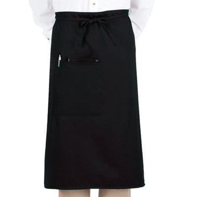 Full Length Black Bistro Apron