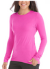 Med Couture Activate Performance Knit Long Sleeve Tee