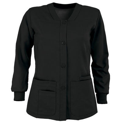 Grey's Anatomy Button Front  Warm Up Jacket