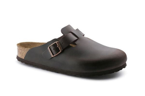 Birkenstock Boston Leather Soft Footbed
