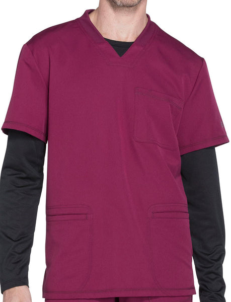 Dickies Dynamix Men's V-Neck- FVTC