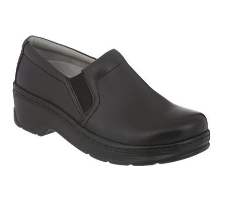Women's Klog's Naples in Black Smooth
