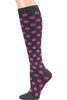 Cherokee Legwear Print Support Compression Sock