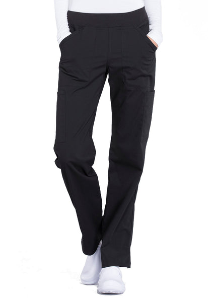 Mid Rise Straight Leg Pull On Pant by Cherokee - TC