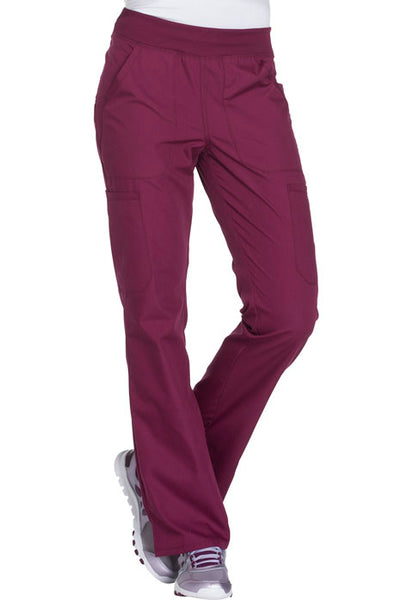 Cherokee Mid Rise Straight Leg Pull-on Cargo Pant - FVTC