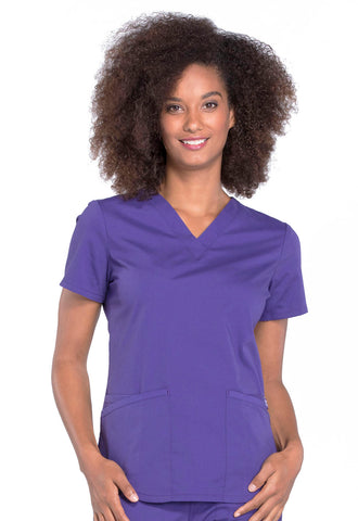 Cherokee Professional V-Neck Top - AA Dietitian