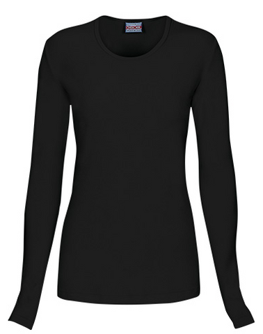 Cherokee Workwear Long Sleeve Knit Tee