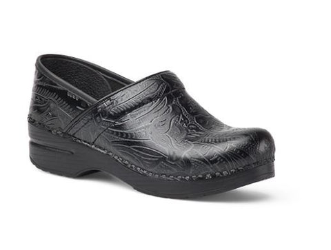Dansko Professional Tooled Clog in Black