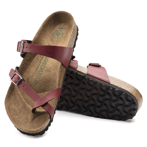 BIRKENSTOCK: Mayari Pull Up Bordeaux
