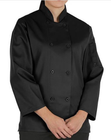3/4 Sleeve Woman's Chef Coat