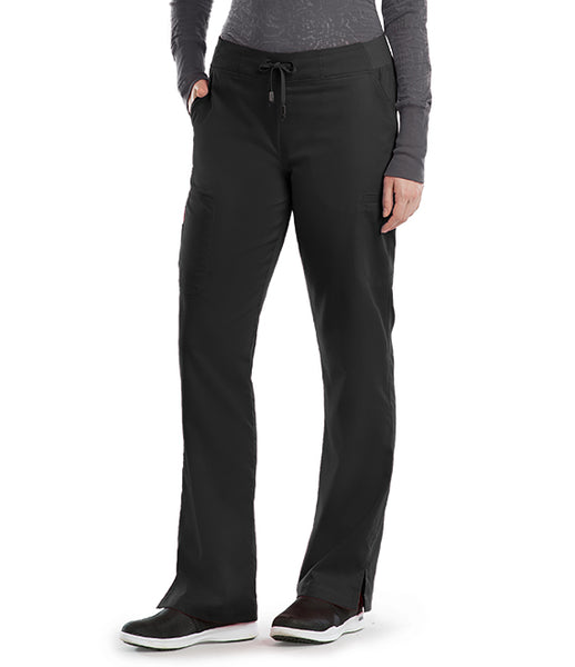 Grey's Anatomy 6 Pocket Tie Front Pant - TC