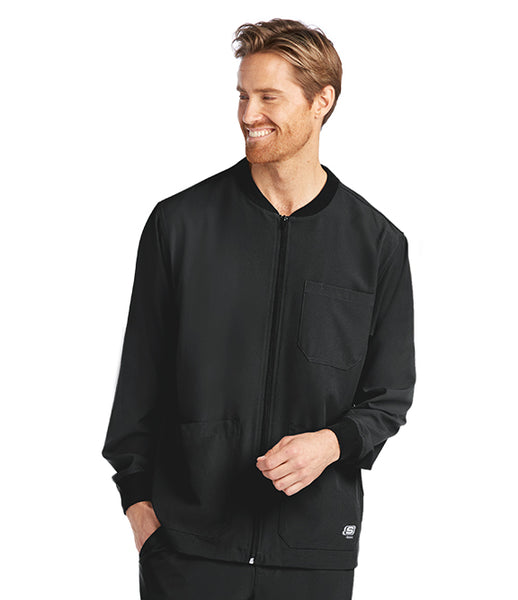 Skechers Men's 3 Pocket Zip Front Warm Up Jacket - TC