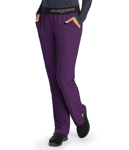 Skecher's Mid-Rise Straight Leg Pant - AA Dietitian