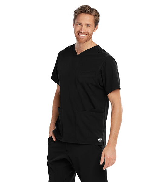 Men's 3 Pocket Skechers Sport V-Neck Top - TC