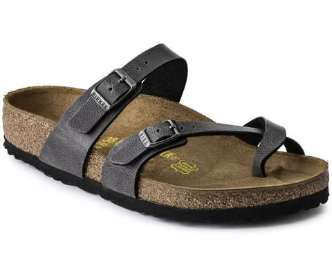 BIRKENSTOCK: Mayari Pull Up Anthracite
