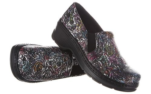 Women's Klog's Naples - Rainbow Tooled