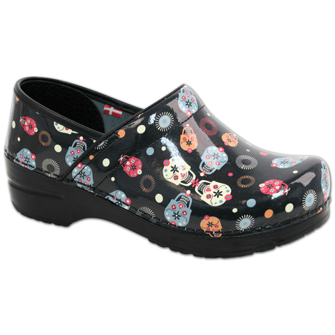 Sanita Women's Pro Dexter Black Sugar Skull