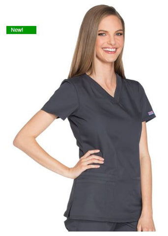Cherokee WorkWear ww645 V-Neck Scrub Top
