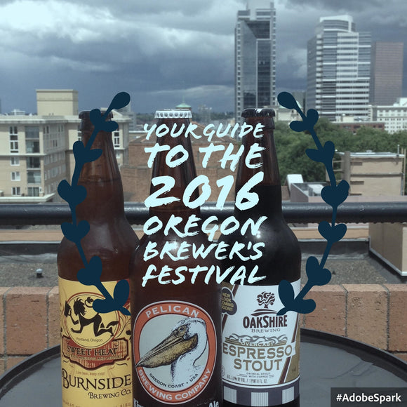 Your Guide to the 2016 Oregon Brewers Festival