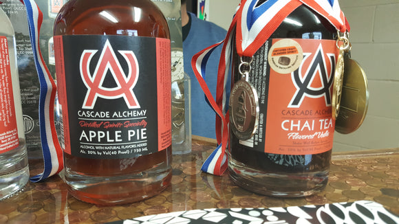 Apple Pie Vodka and Chai Tea Vodka