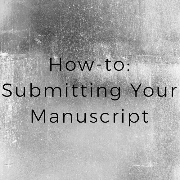 How to submit your manuscript for PitMad Event