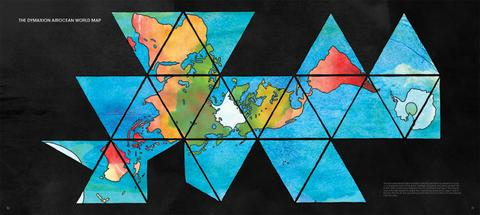A geometric view of the globe