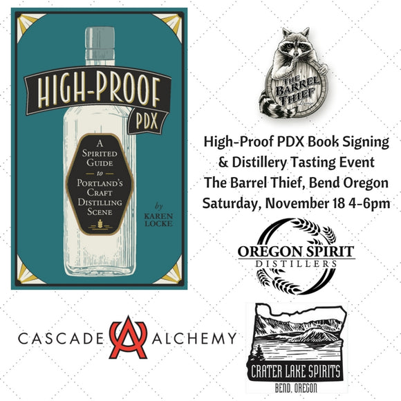 Ad for High-Proof PDX book signing