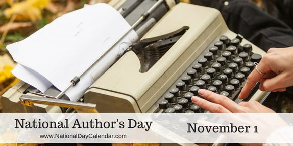 National Author's Day banner