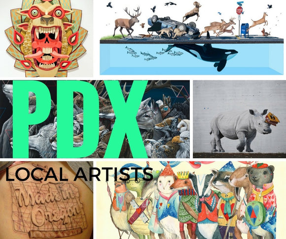 For American Artist Appreciation Month, Celebrate Portland Talent