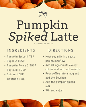 How to Make Your New Favorite Fall Drink: Pumpkin Spiked Latte